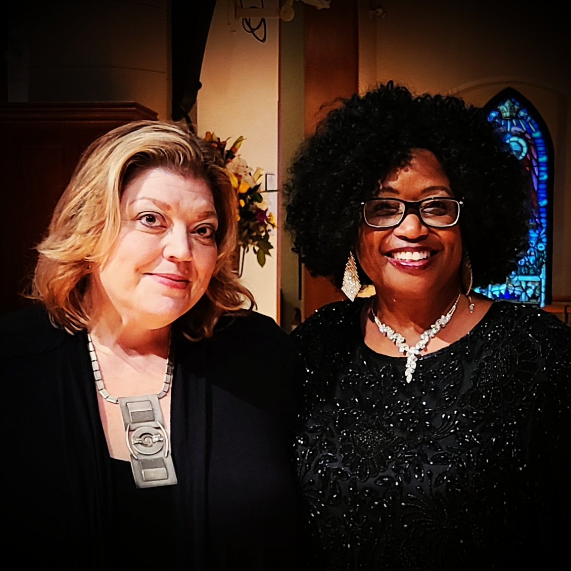 Gail Suderman - Artistic Director and Crystal Hicks - Guest Artist (Christmas 2020)