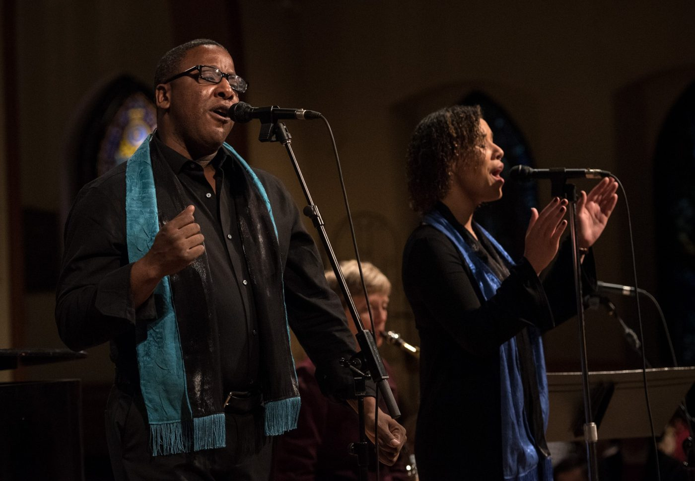 Timothy Fuller and Syllona Kanu - Choir Soloists Christmas 2020